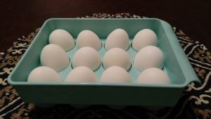 hard boiled eggs from the Instant Pot