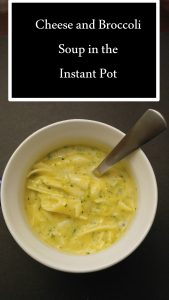 Cheese and Broccoli Soup pin2