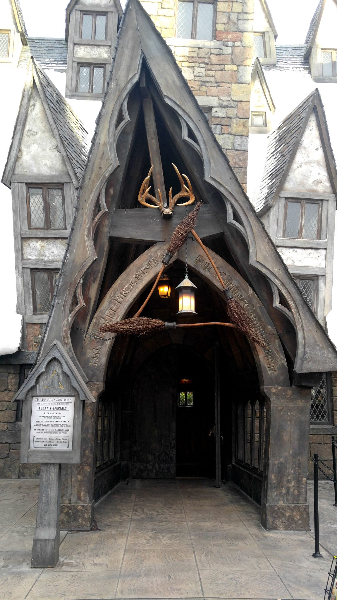 The Three Broomsticks at Universal Studios