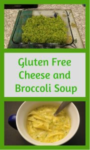 gluten free cheese and broccoli soup pin 3