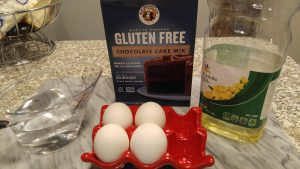King Arthur Flour gluten free chocolate cake mix