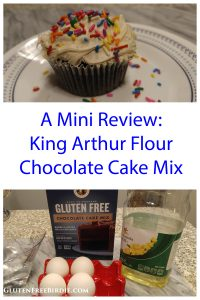 King Arthur Flour Gluten Free Chocolate Cake Mix Pin 2