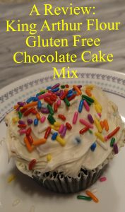 King Arthur Flour Gluten Free Chocolate Cake Mix pin1