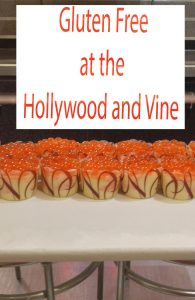 gluten free at the Hollywood and Vine pin1