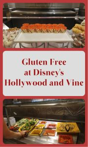 gluten free at Hollywood and Vine pin2